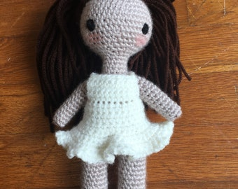 Beach Girl Crochet Doll Amiguruimi
