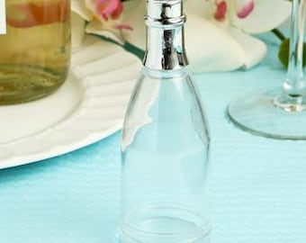 Plastic Champagne Bottle Favor Containers (Pack of 10)
