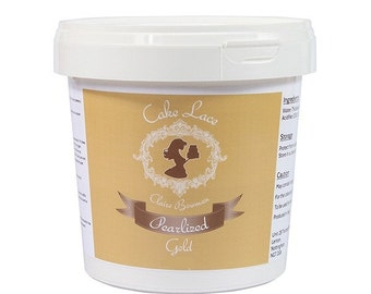 Gold Cake Lace Edible Mix 200g