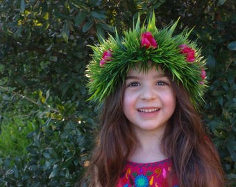 Moana Flower Crown, Haku Lei, Moana Headband, RTS, Cosplay Crown, Hawaiian Crown, Island Princess, Moana Crown, Flower Crown