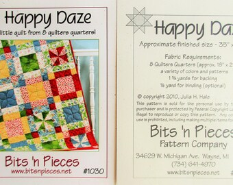 "Bits 'n Pieces ~ ""Happy Daze""  #1030"