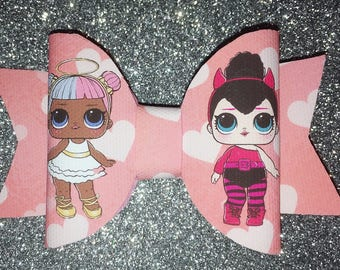 cute lol doll bow clips