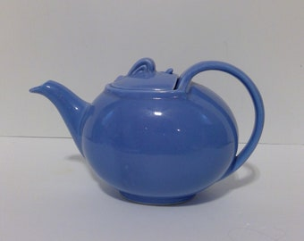 Hall Teapot, Hook Lid, Cadet Blue, Beverage Server, Coffeepot