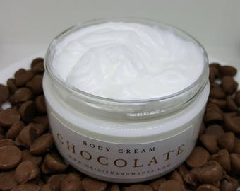 Chocolate Body Cream - Chocolate Lotion - For Chocolate Lovers - Chocolate Gift