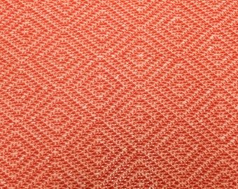 Coral Open Weave Sweater Knit Fabric By the Yard Style 6852