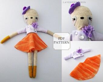 sloth doll pattern, sloth doll, sloth toy, sloth pattern, toy sloth, plush sloth toy, plush sloth, stuffed doll pattern, toy pattern sewing