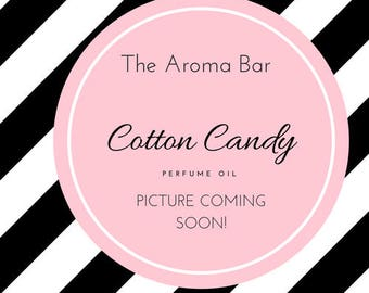 Cotton Candy Perfume Oil- Phthalate Free- Vegan