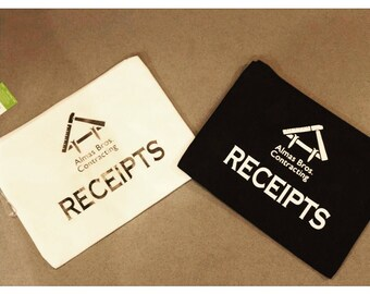 Company Receipt Bag