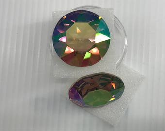 Swarovski #1201 27mm Crystal Purple Haze