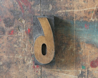 vintage letterpress, wood block stamp, typography, design / number six or nine, 6 / 9