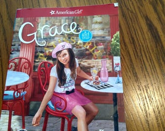 American girl doll Grace's book