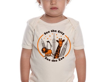 Phish Baby Onesie, See the City, See the Zoo