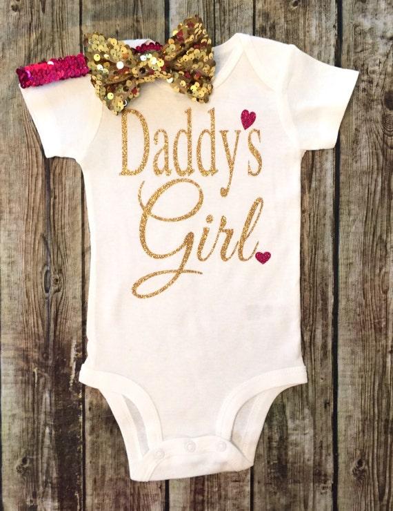 Daddy's Girl Bodysuit Baby Girl Daddy's Girl