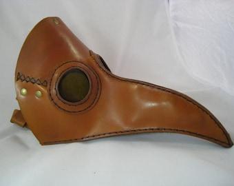Leather Plaque Dr Mask