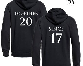 Together Since Hoodies - Free UK Shipping