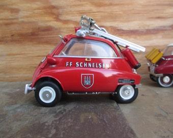 1/18 Diecast Car BMW Isetta model car metal car vintage car antique car toy car red birthday Christmas present gift