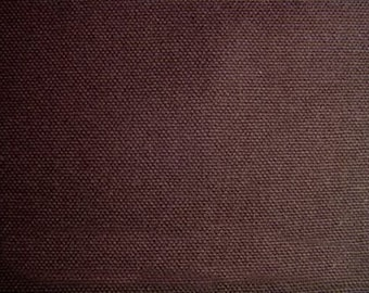 60 Inch Wide ORGANIC Duck Canvas Fabric NUTMEG BROWN By the Yard