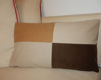 Decorative pillow cover hold kidneys nature II