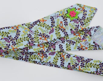 Efflorescence I - Women's Neck Tie