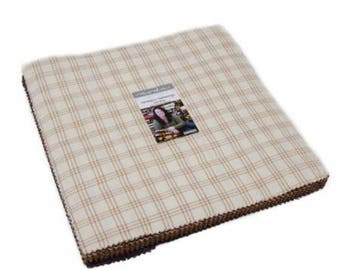 """Homespun Gatherings Wovens by Primitive Gatherings for Moda Layer Cake 42 - 10"""" Squares"""