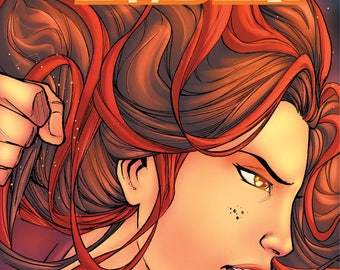 The Last Ember - Issue #0 - Emberverse - Fire Goddess - Comic Book - Indie Comic - She's the last of her kind!