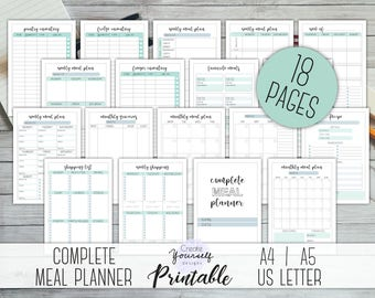 monthly food planner