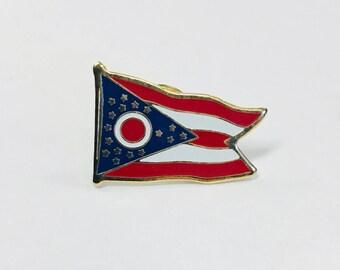 Ohio State Flag Pin