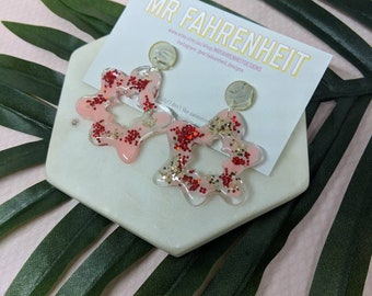 ROSIE Acrylic and Resin Statement Earrings