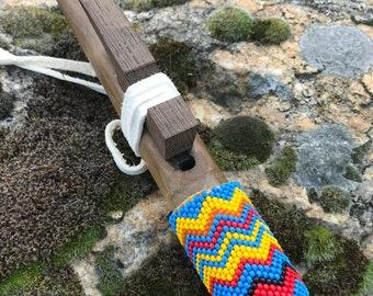 Native American Beaded Flute