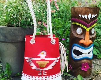 At stock ! New ! Bucket bag, Chimayo style bag new!!!!!