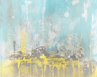 Modern Art Abstract Painting by Andy Hahn - 32 x 48 - Abstract 151 - Contemporary Abstract Fine Art, Modern Acrylic Painting Wall Art