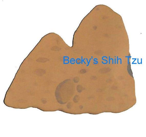 Puppy Bows ~ Shih Tzu dog breed plastic craft stencil