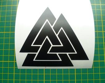 Valknut Sticker Triskele Sticker Triscele Sticker Odin VIking Norse Book of Kells