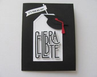 Graduation Card, Congratulations Card, Graduation Cap Card, Graduation Gift Card Holder, Graduation Gift, Congrats Cards, Graduation