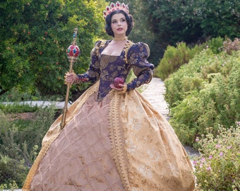 One 8x10 Signed Print: Queen Snow White