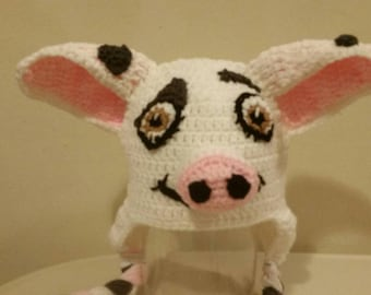 Crochet Pig/Inspired Pua Pig Hat