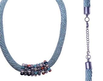 Shades of sea necklace