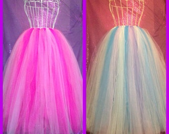Adult long tutu any color
