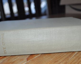 "Vintage Biography. Vintage Book. ""Madame Curie"" by Eve Curie. Dated c1940s. Embossed Hardcover."