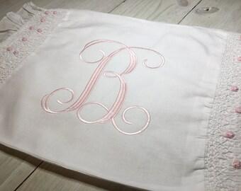 Smocked Rosette Pillow