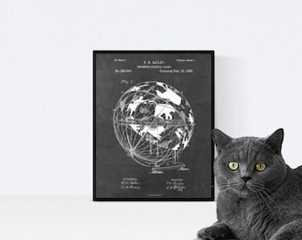 Star Map Poster, Astronomy wall decor, Science Teacher gift print, Black and White, Constellation gift print, Printable Patent, Zodiac Gifts