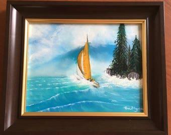 Original Oil  Painting Seascape