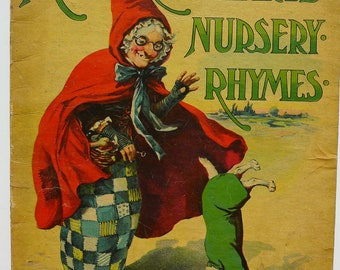 1910. Mother Hubbard's Nursery Rhymes.
