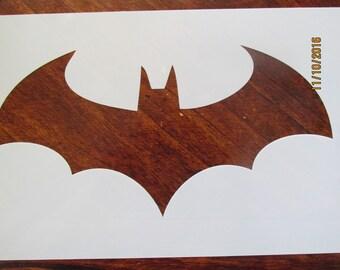 Batman Stencil Reusable 10 mil Mylar