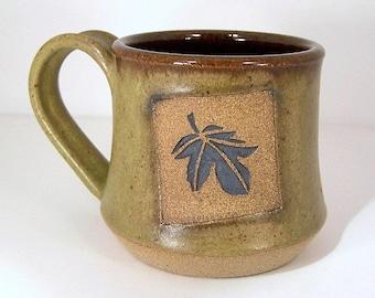 Moss Green Stoneware Mug