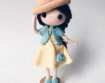 Amigurumi Doll Patterns : Crochet doll pattern etsy