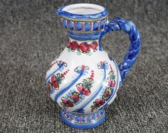 Vintage Keck Keramik Pitcher Made In Germany c. 1987