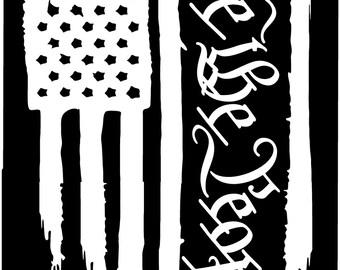 American Flag Lineman Lineworker Pole Technician Vinyl Die Cut