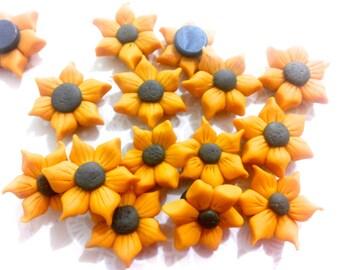 4pcs - Little Sunflower Magnets