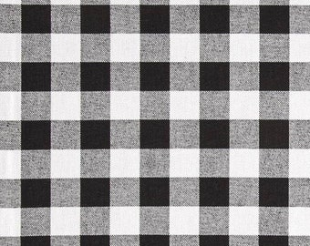 13 x 18 lined Placemats. Buffalo Plaid placemats. Black White Check Small Plaid placemats. Decorative Table Top Placemats